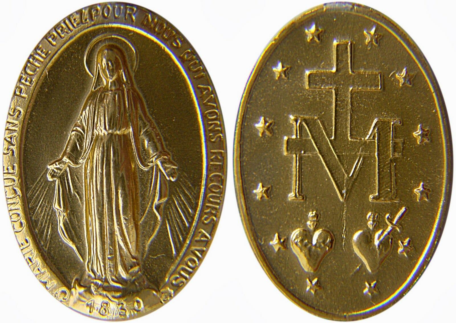 d0a686434 Medalha Milagrosa de Nossa Senhora das Graças
