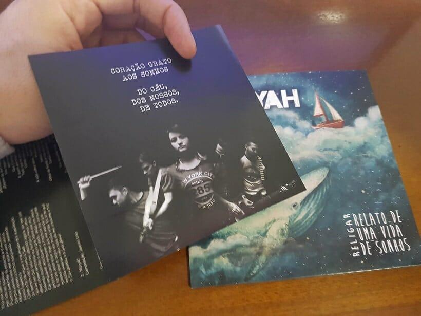 Banda Moryah - Religar, Relato de uma vida de sonhos